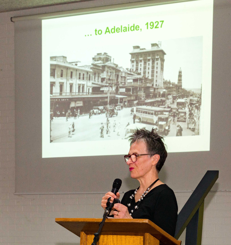 Madeleine's presentation