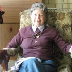 Barbara Haynes nee Ballantyne, Kidman Park, 2012