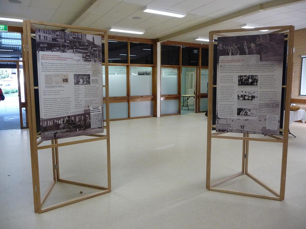Exhibition Display Boards : Exhibition veneto market gardeners