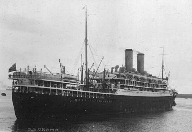 Migrant ships – Veneto market gardeners 1927