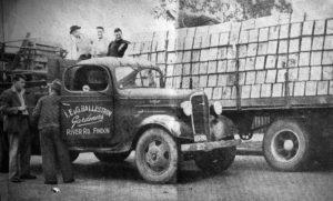 Ballestrin - Isidoro, Ermenegildo & Giuseppe market truck c1950s.