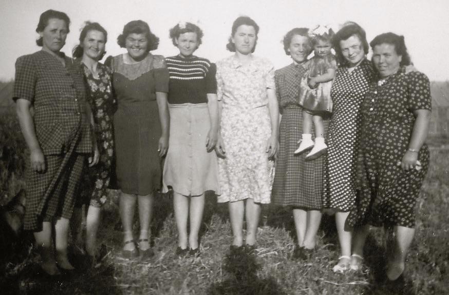 Pioneer women – Veneto market gardeners