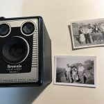 Brownie camera - zia Ginevra, zio Angelo Caon, Richmond c 1954