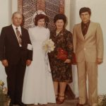 Irene's wedding day - Nico, Irene, Delia, Dennis
