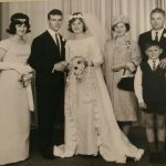 Terry Zampin & Lui Mazzarolo's wedding day 5 December 1965